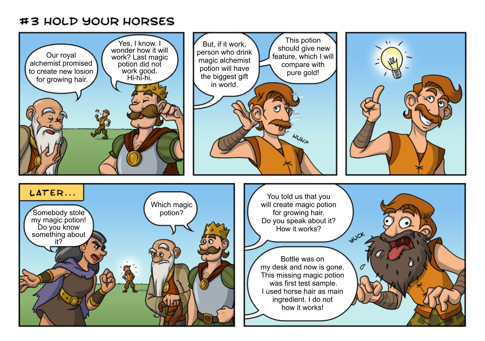 Comic strip contest #12.12 - Find your own words - Contests