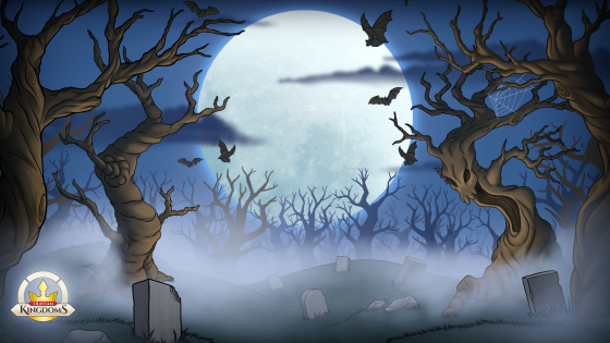 Spook your colleagues or class mates with this video call background