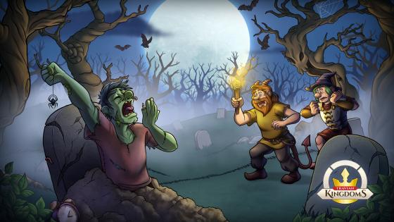 Halloween Hunt 2021 desktop background blank